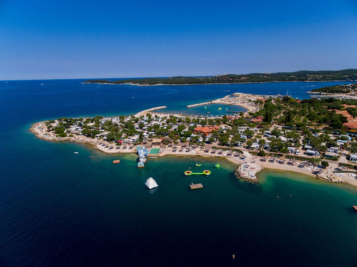 camping kroatien standplads