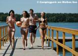 Campingpark am Weißen See Bild 1
