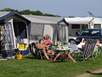 Halk Strand Camping Bild 2