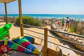 Les Méditerranées Camping Beach Garden Bild 1